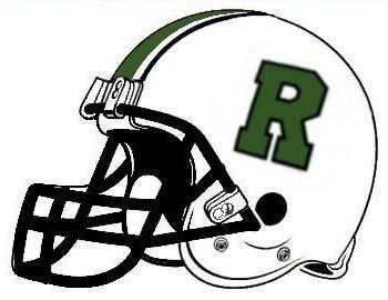 Roswell Football Helmet reverse